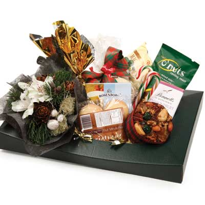 Called: Gourmet with Flowers. Description: An ideal gift for family and friends.