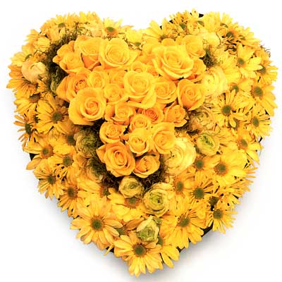Called: Florists Heart. Description: The perfect way to express what words cannot.