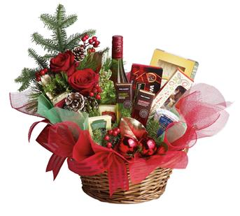 Called: Christmas Spirit. Description: Even if your list seems like it is endless this year, sending a Christmas gift has never been so easy. This basket is fresh, festive and fabulous. Oh, and did we mention is delicious?