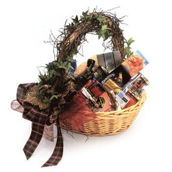 Called: Christmas Hamper. Description: Filled with Christmas Cheer