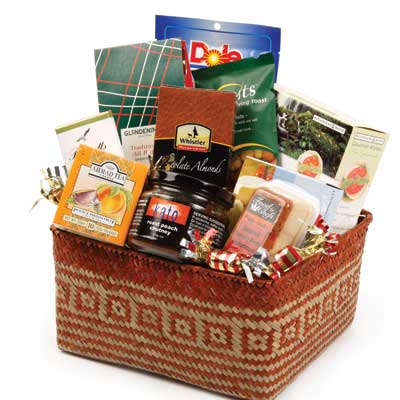 Sawyers Bay Gift baskets